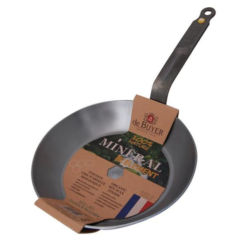 de buyer mineral b element steel frying pan. Black Bedroom Furniture Sets. Home Design Ideas