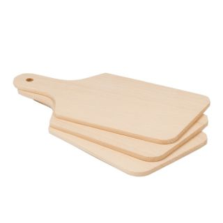 Chopping Board 3 x Chopping Board 28 x 14 cm