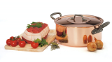 Copper stock pot